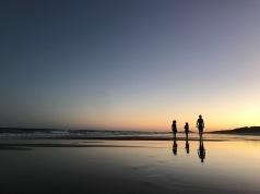 Erster Abend an der Sunshine Coast - Australien meint es gut mit uns!