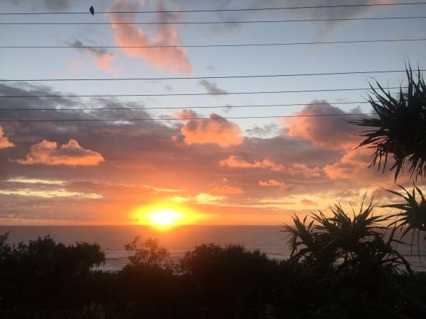 Unser Sonnenaufgang