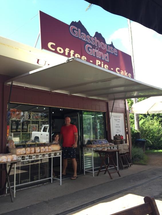 Hier gibt es überall super Kaffee - love it!