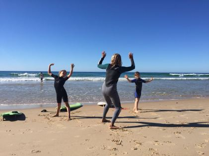 Sunday Family Surf mit Felicity