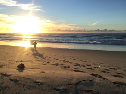 Sunshine Beach morgens um 6.30 Uhr!