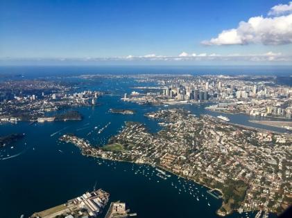 Anflug Sydney ... WOW!