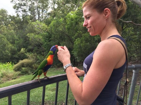 First day in Australia for Jäääzmin - wir haben uns gefreut und das Wildlife auch!!! :o)