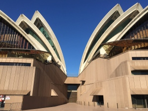 Opera House ... am morgen menschenleer ...