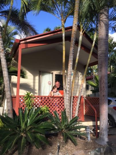 Bungalows auf Campingplätzen ... perfekt für unsere Ferien an der Küste von Queensland!