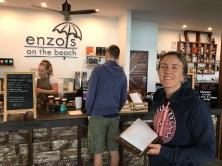 Hervey Bay Turtle Tour ... zuerst aber ein Kaffee :o)