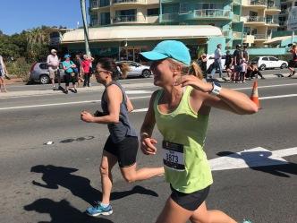 Erster Lauf für mich in Australien, hurray!