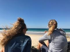 Meer in den Augen und Wind im Haar
