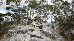 Mt. Cooroora on the top