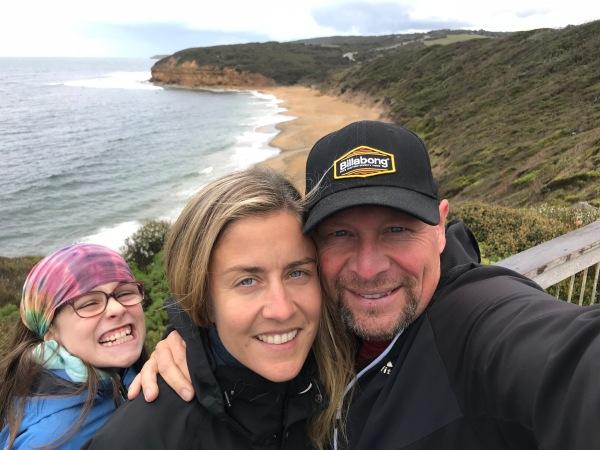 Bells Beach ohne Wellen - wir müssen nochmals hin!!!