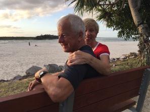 Letzter Australien-Abend von Mum & Paps
